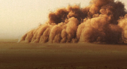 Sand Storm and Avalanches Video Effects HD VFX Set