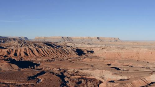 (4K) Aerial Desert Landscape Utah 1 Effect