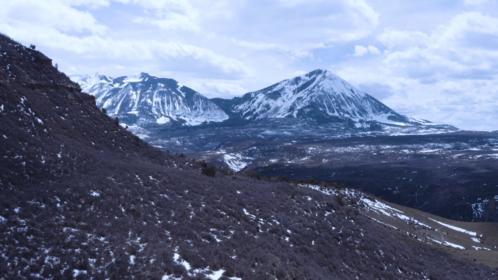(4K) Aerial Rocky Mountains Landscape 6 Effect