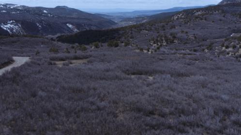 (4K) Aerial Rocky Mountains Landscape 7 Effect