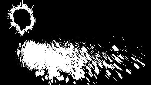 (4K) Glass Bullet Impact 1 Effect