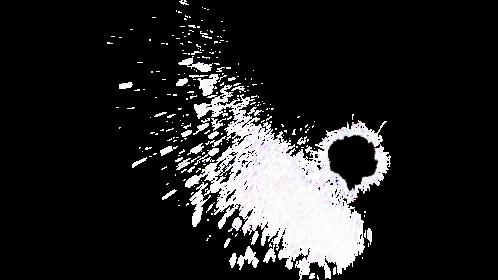 (4K) Glass Bullet Impact 6 Effect