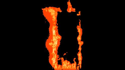 (4K) Loopable Door Fire 4 Effect