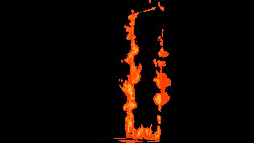 (4K) Loopable Door Fire 8 Effect