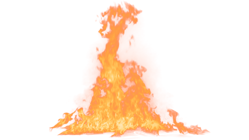 (4K) Loopable Ground Fire 43 Effect