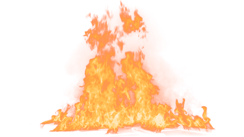 (4K) Loopable Ground Fire 44 Effect