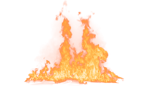 (4K) Loopable Ground Fire 45 Effect