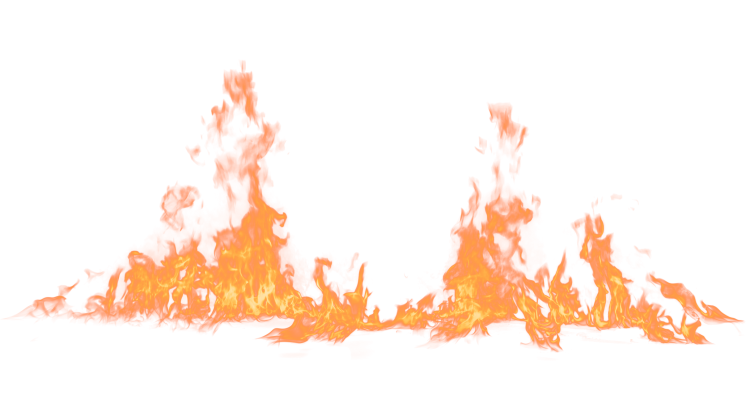 (4K) Loopable Ground Fire 49 Effect