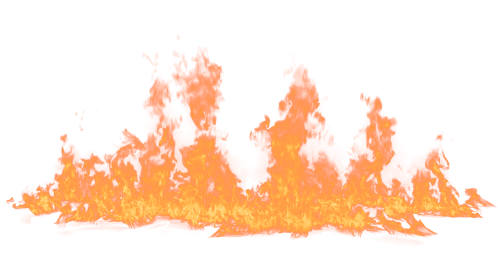 (4K) Loopable Ground Fire 52 Effect