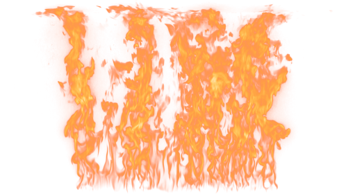 (4K) Loopable Wall Fire 14 Effect