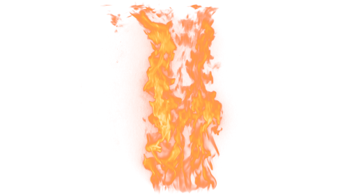 (4K) Loopable Wall Fire 15 Effect