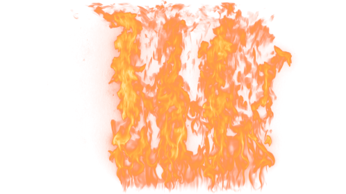 (4K) Loopable Wall Fire 17 Effect