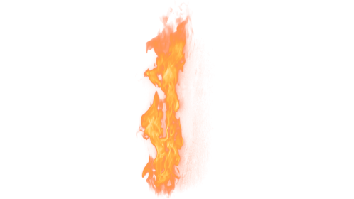 (4K) Loopable Wall Fire 19 Effect