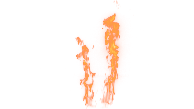(4K) Loopable Wall Fire 25 Effect