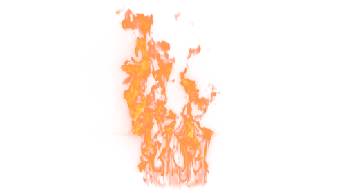 (4K) Loopable Wall Fire 26 Effect