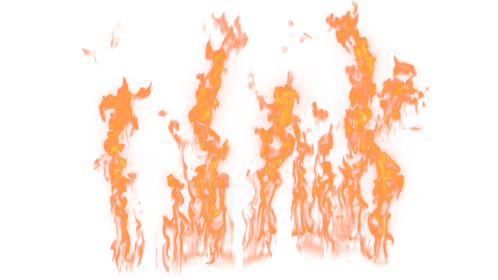 (4K) Loopable Wall Fire 30 Effect
