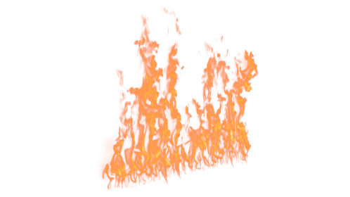 (4K) Loopable Wall Fire 39 Effect