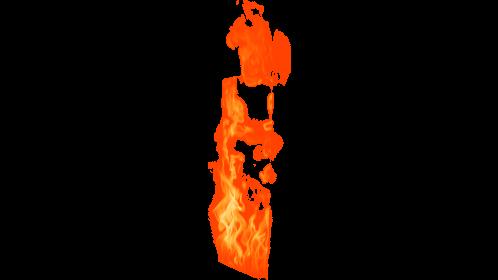 (4K) Loopable Window Fire 12 Effect