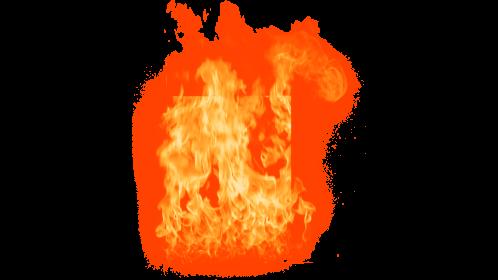 (4K) Loopable Window Fire 16 Effect