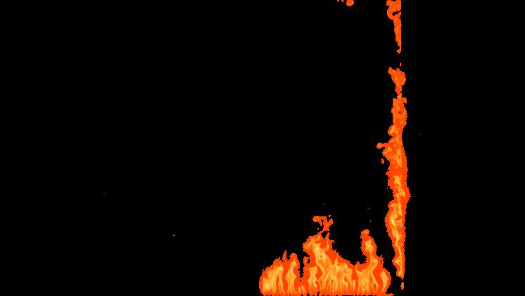 (4K) Loopable Window Fire 3 Effect