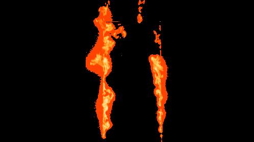 (4K) Loopable Window Fire 5 Effect