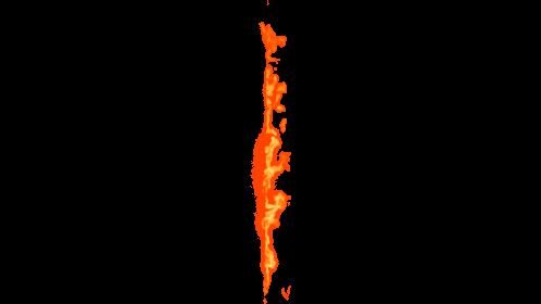 (4K) Loopable Window Fire Side 1 Effect