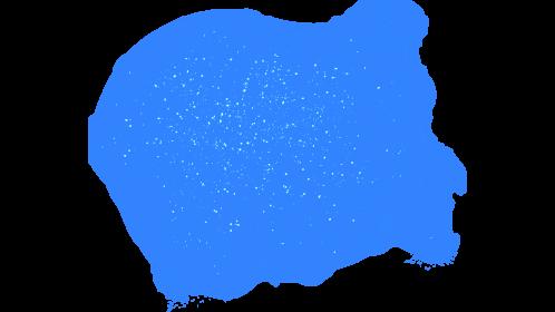 (4K) Magic Energy Burst 26 Blue Effect