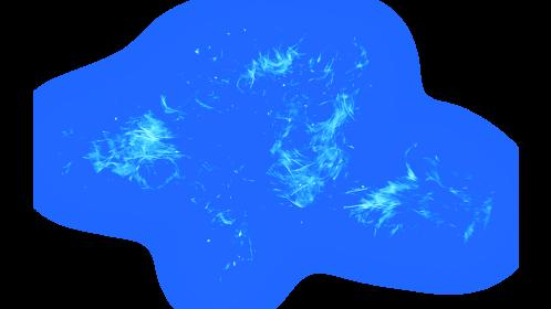(4K) Magic Energy Burst 30 Blue Effect