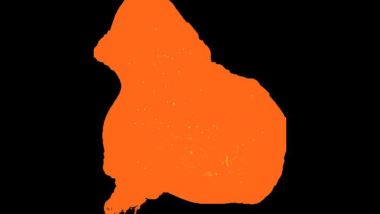 (4K) Magic Energy Burst 37 Orange Effect