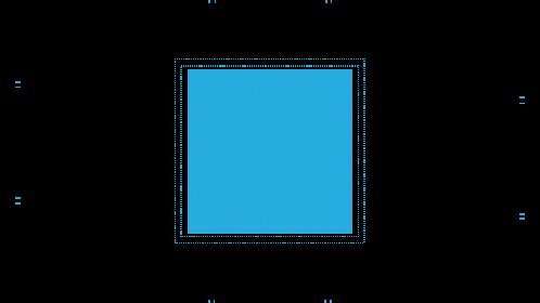 (4K) Modern HUD Microchip 1 Effect