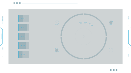 (4K) Modern HUD Screen Elements 5 Effect