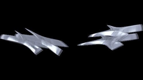(4K) Shurikens Pov Throw 3 Effect