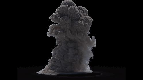(4K) Smoke Plume Small 7 Effect