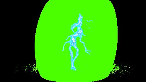 (4K) Super Lightning Ground With Sparks 38 Effect