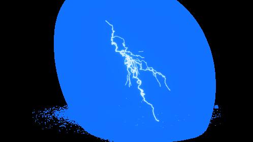 (4K) Super Lightning Ground With Sparks 39 Effect