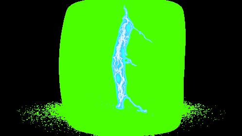 (4K) Super Lightning Ground With Sparks 45 Effect