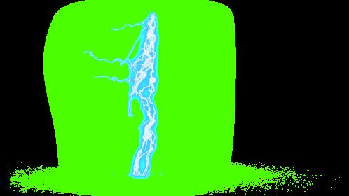 (4K) Super Lightning Ground With Sparks 49 Effect