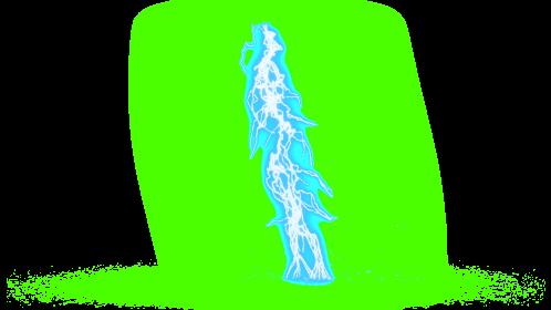(4K) Super Lightning Ground With Sparks 51 Effect