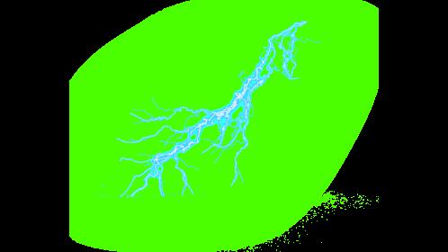 (4K) Super Lightning Ground With Sparks 54 Effect