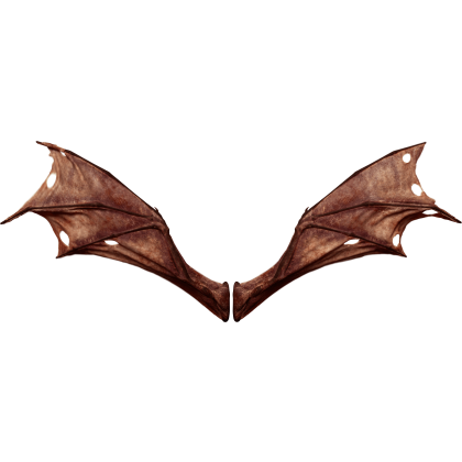 (4K) Demon Wings Red Back Flapping Effect