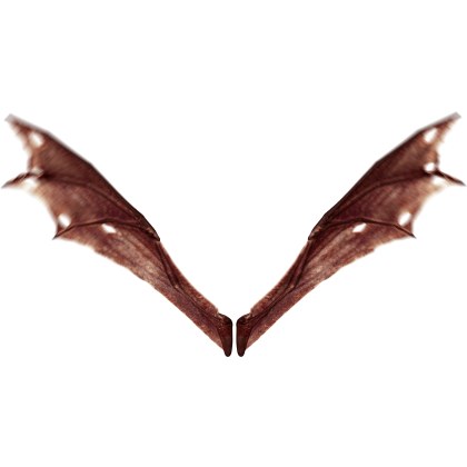 (4K) Demon Wings Red Top Flapping Effect