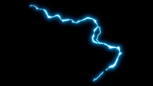 (4K) Anime Lightning Arc 1 Effect