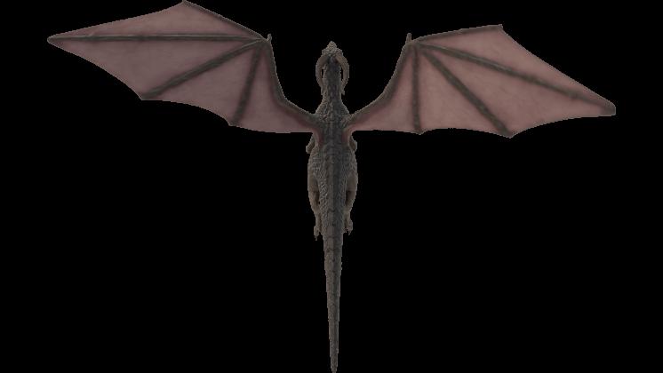 (4K) Mountain Dragon Flying Top Effect