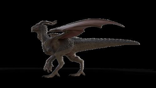 (4K) Mountain Dragon Walking Side Effect