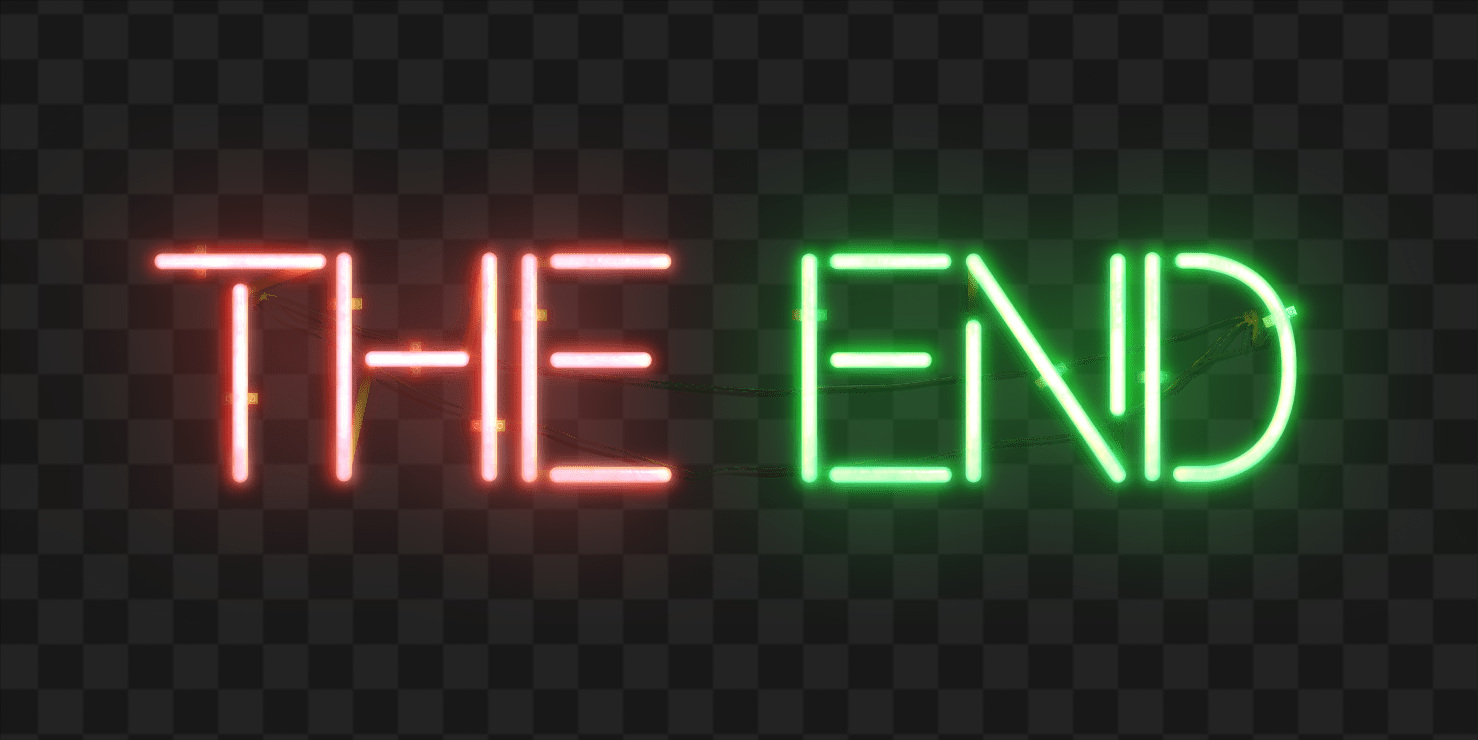 Collection of The End PNG. | PlusPNG