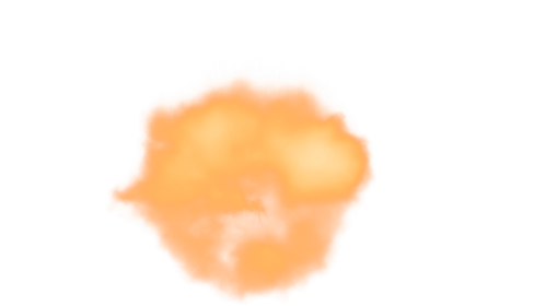 (4K) 1911 Muzzle Flash Front Facing 4 Effect