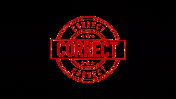 (4K) Circular Stamp Correct Effect