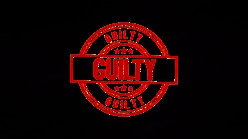 (4K) Circular Stamp Guilty Effect