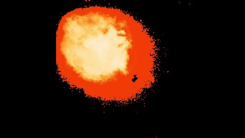 (4K) Fireball Front 9 Effect