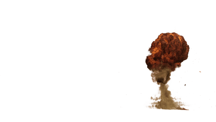 (4K) Gas Explosions 11 Effect